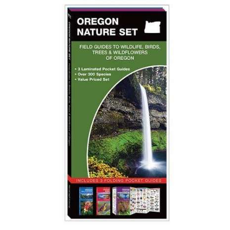 Other Field Guides, Oregon Nature Set: Field Guides to Wildlife, Birds, Trees & Wildflowers of Oregon