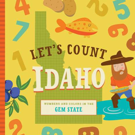 Board Books :Let's Count Idaho