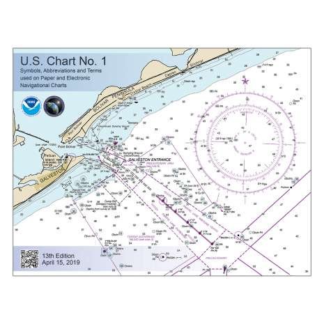 U.S. Chart No. 1, U.S. Chart No. 1: Symbols, Abbreviations and Terms used on Paper and Electronic Navigational Charts, 13th edition