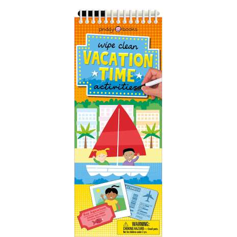 Activity Books :Wipe Clean Activities: Vacation Time