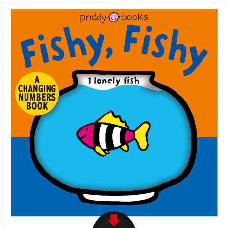Books for Aquarium Gift Shops :Fishy, Fishy: A Changing Numbers Book