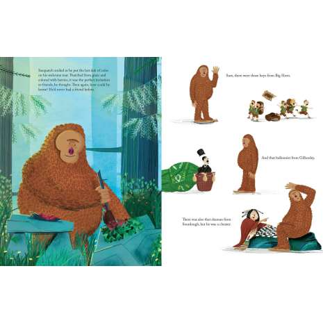 Bigfoot for Kids, A Smile for Sasquatch: A Missing Link Story