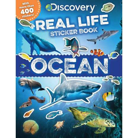 Activity Books: Aquarium :Discovery Real Life Sticker Book: Ocean