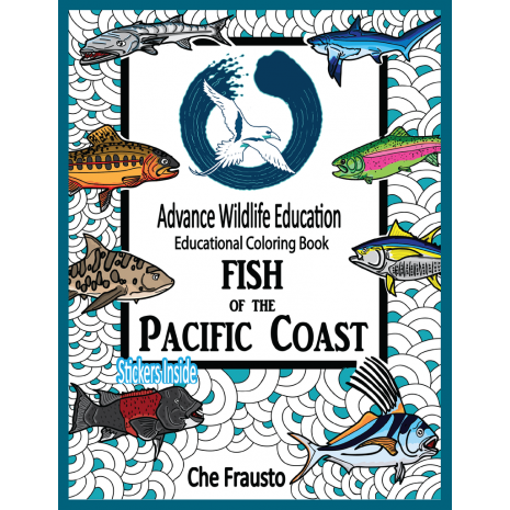 Activity Books: Aquarium :Fish of the Pacific Coast Educational Coloring Book