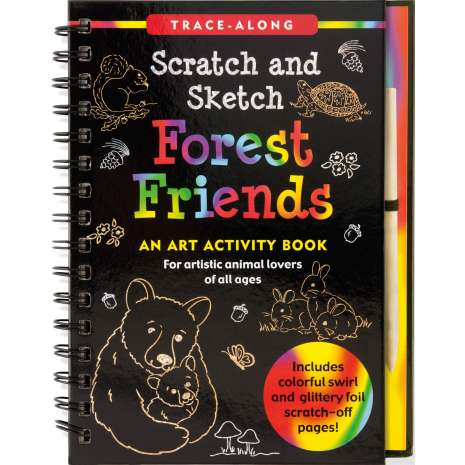 Drawing Books :Scratch & Sketch: Forest Friends