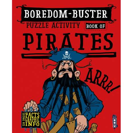 Activity Books: Pirates, Boredom-Buster Puzzle Activity Book of Pirates