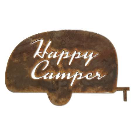 Camping & Hiking :Happy Camper MAGNET