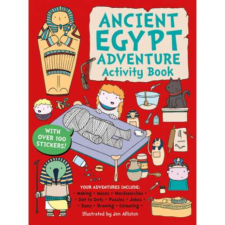 History for Kids, Ancient Egypt Adventure Activity Book