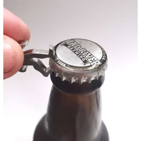 Bigfoot Novelty Gifts :Microsquatch KEYCHAIN BOTTLE OPENER w/Carabiner