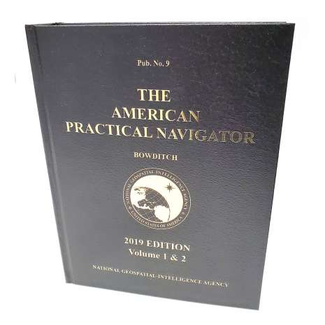 "Bowditch - American Practical Navigator :American Practical Navigator ""Bowditch"" 2019 Vol. 1 & 2 HARDCOVER"