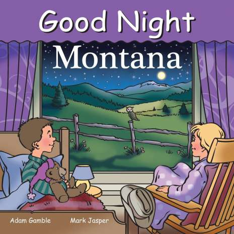 Board Books :Good Night Montana