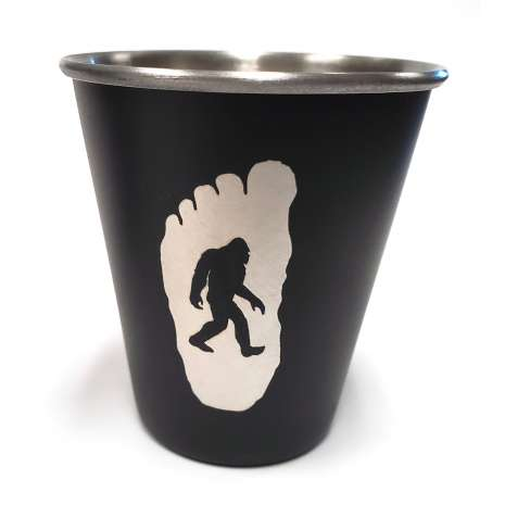 Oregon, Oregon Bigfoot Stainless Steel Shot Glass