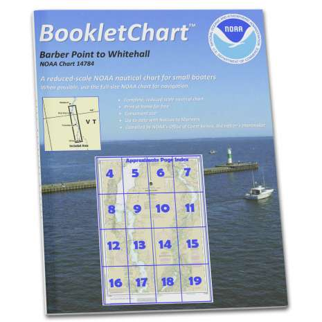 Great Lakes Charts :NOAA BookletChart 14784: Barber Point to Whitehall