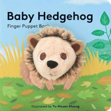 Board Books: Zoo :Baby Hedgehog: Finger Puppet Book