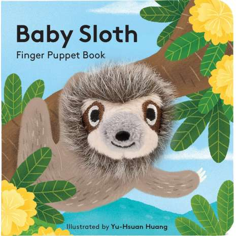 Board Books: Zoo :Baby Sloth: Finger Puppet Books
