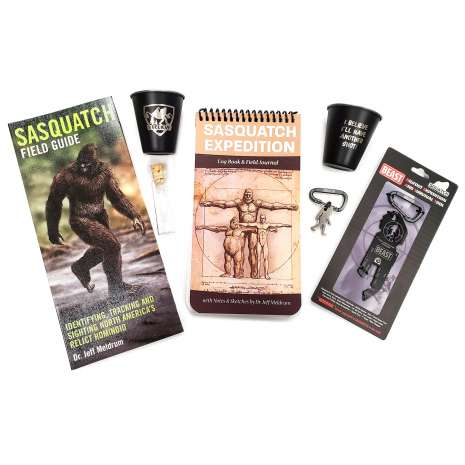Bigfoot Novelty Gifts :Sasquatch Expedition Package