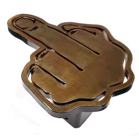 Hitch Receiver Covers :JEFFERSON STATE BIRD Trailer Hitch Cover - Heavy duty steel - Made in USA
