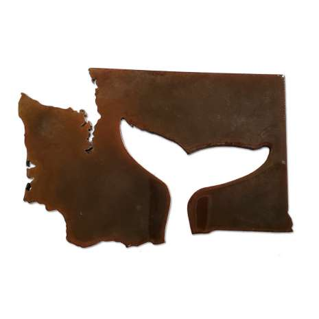 Washington :Washington Whale Tail MAGNET
