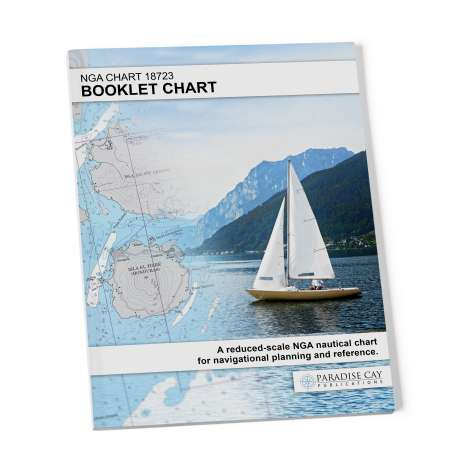 NGA BookletCharts :NGA BookletChart 18723: Point Conception to Point Arguello