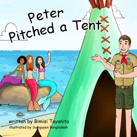 Adult Humor :Peter Pitched a Tent