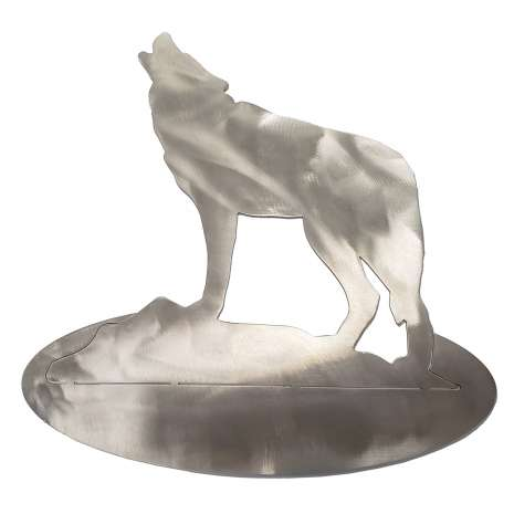Metal Displays & Stand-ups :Wolf STAINLESS STEEL STAND-UP