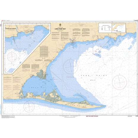 Central and Arctic Region Charts :CHS Chart 2110: Long Point Bay