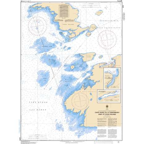 Central and Arctic Region Charts :CHS Chart 2274: Cape Hurd to/à Tobermory and/et Cove Island
