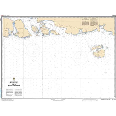 Central and Arctic Region Charts :CHS Chart 2303: Jackfish Bay to St. Ignace Island