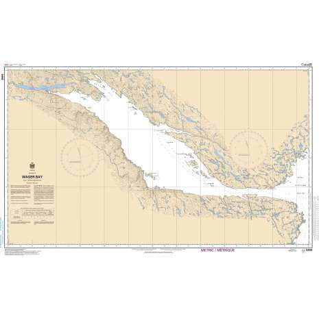 Central and Arctic Region Charts :CHS Chart 5440: Wager Bay