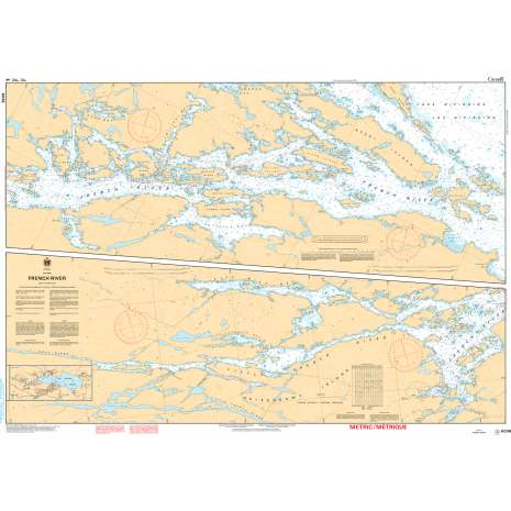 Central and Arctic Region Charts :CHS Chart 6036: French River