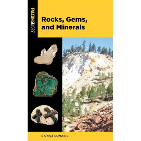 Rockhounding & Prospecting :Falcon Pocket Guide: Rocks, Gems, and Minerals 3RD EDITION