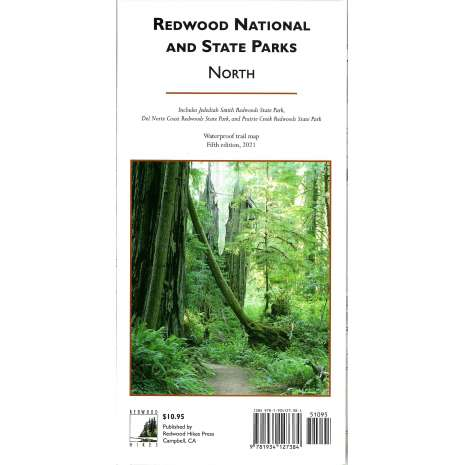 California Travel & Recreation :Redwood National and State Parks - North 5th Ed 2021