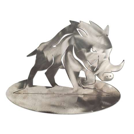 Metal Displays & Stand-ups :Boar BENDABLE STAND-UP