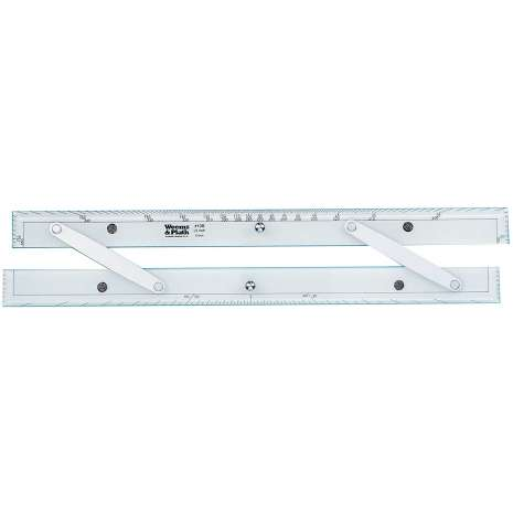"""Navigation Tools :18"""" Aluminum Arms Parallel Rule #138"""