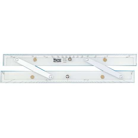 """Navigation Tools :15"""" Brushed Aluminum Arms Parallel Rule #141"""