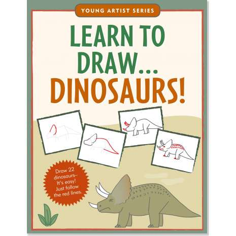 Activity Books: Dinos :Learn To Draw Dinosaurs!