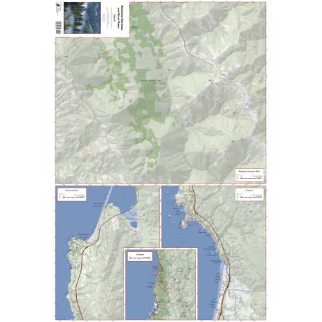 California Travel & Recreation :Redwood National and State Parks - South 5th Ed 2021 (FOLDED MAP)