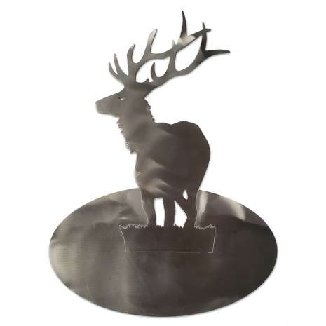 Bendable Stand-Ups :Stainless Standing Elk STAND-UP
