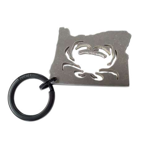 Bottle Openers & Keychains :Oregon Crab KEYCHAIN
