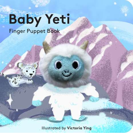 Bigfoot Novelty Gifts :Baby Yeti: Finger Puppet Book