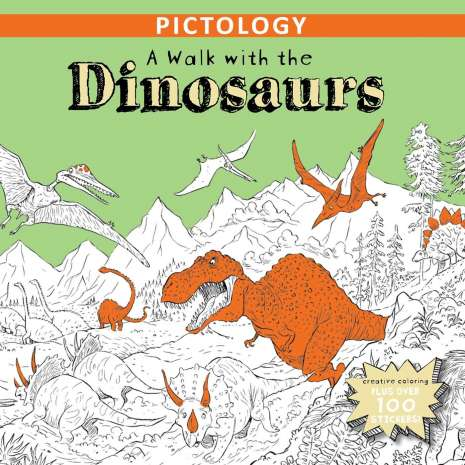 Activity Books: Dinos :A Walk with the Dinosaurs (Pictology)
