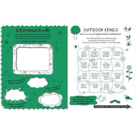 Activity Books :Get Outdoors! Activity Book: My Nature Activity Book