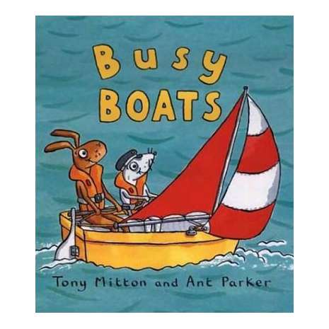 Boats, Trains, Planes, Cars, etc., Busy Boats