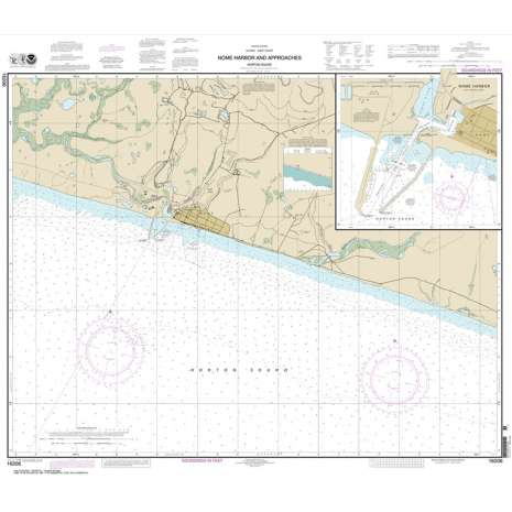 Alaska Charts :NOAA Chart 16206: Nome Hbr. and approaches: Norton Sound;Nome Harbor