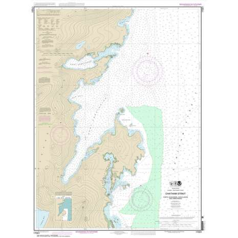 Alaska Charts :NOAA Chart 17331: Chatham Strait Ports Alexander: Conclusion: and Armstrong
