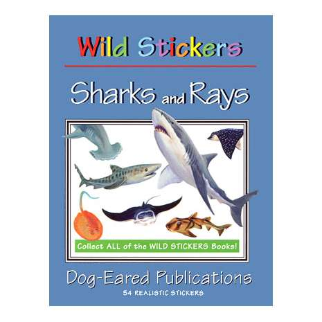 Stickers & Magnets :Wild Stickers: Sharks & Rays