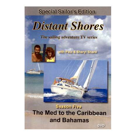 ON SALE Travel Related :Distant Shores, Season Five: The Med to Caribbean & Bahamas (3-DVD set)