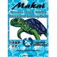 Adult Coloring Books, Makai Hawaiian Marine Wildlife Educational Coloring Book