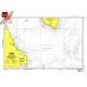 "Miscellaneous International :NGA Chart 110: Labrador Sea, Approx. Size 21"" x 29"" (SMALL FORMAT WATERPROOF)"