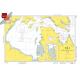 "Miscellaneous International :NGA Chart 111: Hudson Strait And Bay, Approx. Size 21"" x 31"" (SMALL FORMAT WATERPROOF)"